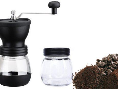 تنظیم آسیاب دستی قهوه